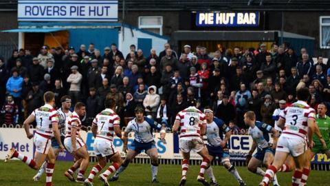 Featherstone Rovers v Wigan
