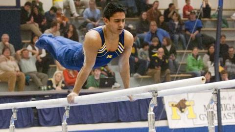 Bangladesh gymnast Syque Caesar