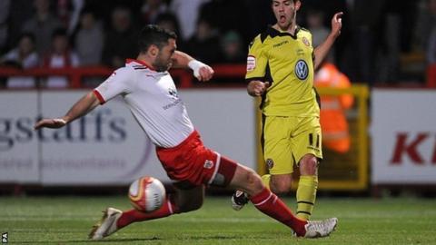 Stevenage V Sheffield United
