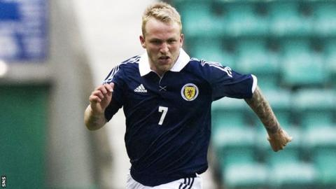 Johnny Russell has played for the Scotland Under-21 side