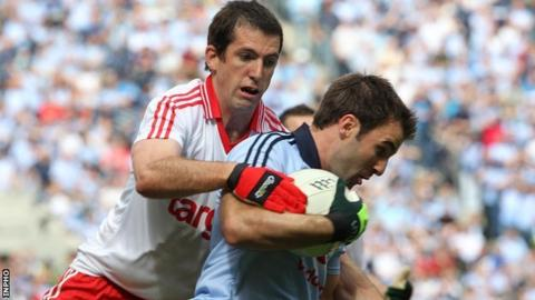 Tyrone's Justin McMahon expects to be fit for Armagh clash