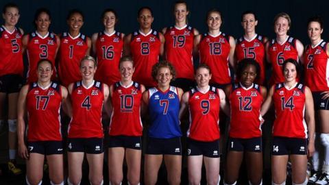 Great Britain women's volleyball team