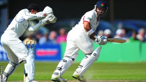 Ashwell Prince in action against Middlesex
