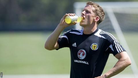 Scotland defender Christophe Berra