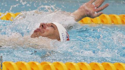 Paralympics GB swimmer Jim Anderson
