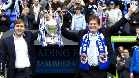 Anton Zingarevich and Sir John Madejski
