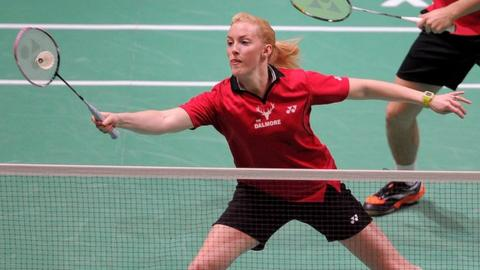 Scottish badminton player Imogen Bankier