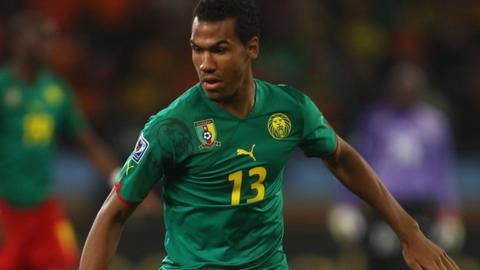 Cameroon's Eric Choupo-Moting