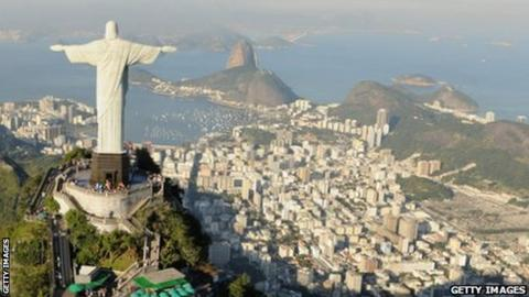 Rio's famous 'Christ the Redeemer' statue