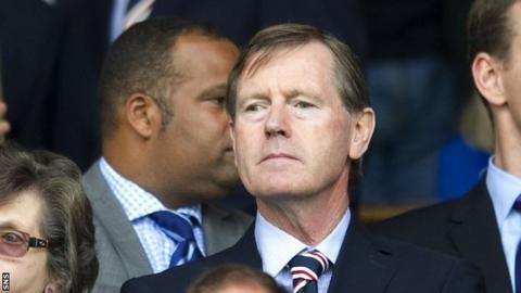Rangers director Dave King