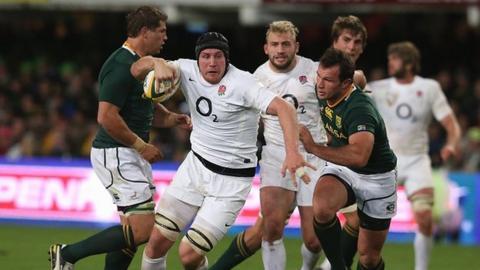 England's Ben Morgan