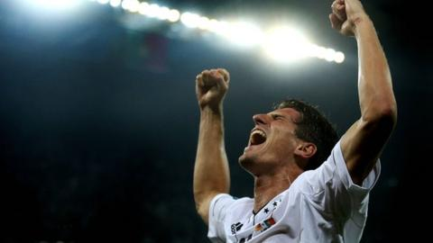 Germany's Mario Gomez