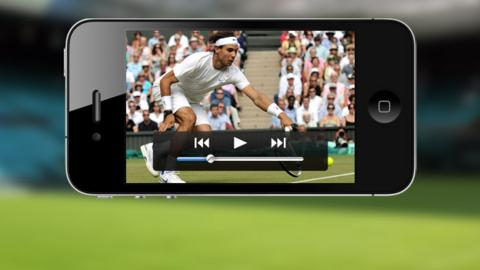 Watch BBC Sport video on your mobile