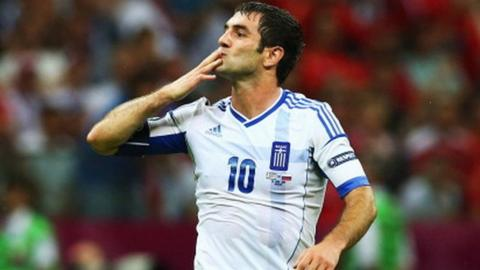 Greece's Giorgos Karagounis