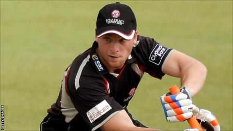Somerset batsman Jos Buttler