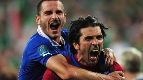 Italy 2-0 Republic of Ireland