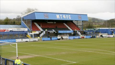 Macclesfield Town's Moss Rose ground