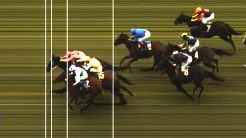 Black Caviar wins Diamond Jubilee Stakes