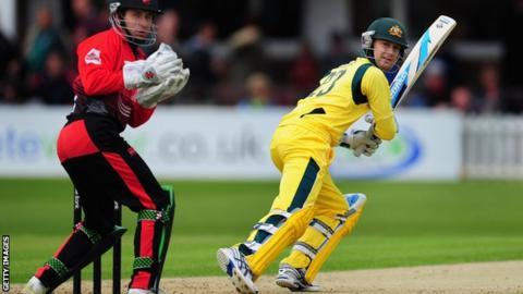 Australia batsman Michael Clarke