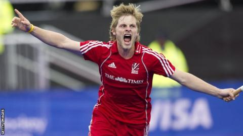 East Grinstead and Great Britain hockey player Ashley Jackson