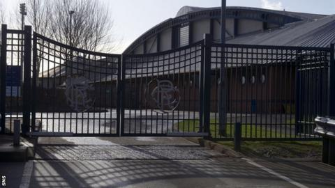 Rangers' Murray Park training ground