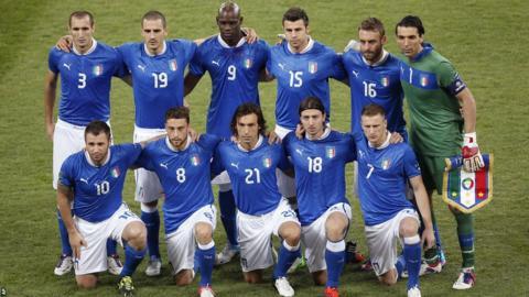 Italy team