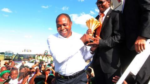 Zambia FA chief Kalusha Bwalya