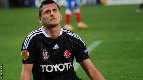 Besiktas' Mustafa Pektemek