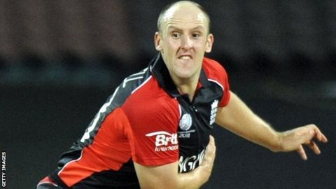 James Tredwell playing for England