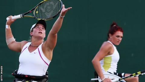 Lucy Shuker Jordanne Whiley