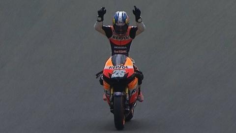 Dani Pedrosa wins Sachsenring MotoGP