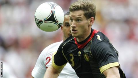 Ajax captain Jan Vertonghen
