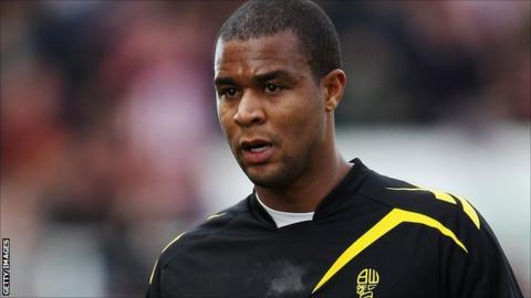 Bolton Wanderers defender Zat Knight