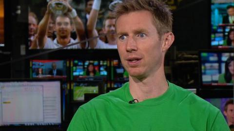 Wimbledon men's doubles winner Jonathan Marray