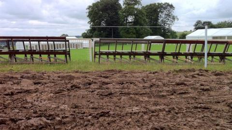 Gatcombe's muddy course