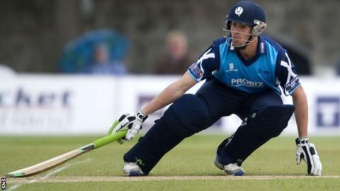 Scotland cricket player Calum MacLeod