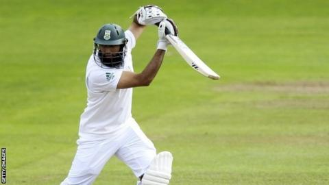 Hashim Amla in action for South Africa