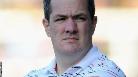 St Helens interim coach Mike Rush