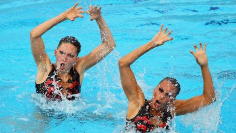Team GB's Jenna Randall and Olivia Federici