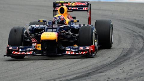 Mark Webber's Red Bull