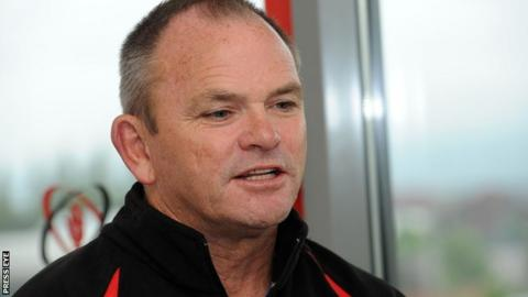 New Ulster coach Mark Anscombe