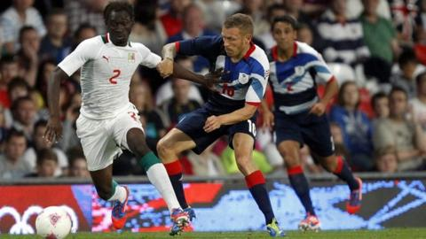 Great Britain and Senegal drew 1-1 in their Olympic opener