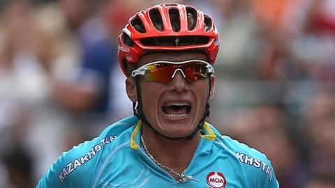 Mark cavendish s olympic bid fails as alexandre vinokourov wins gold