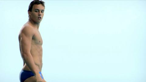 Olympic diver Tom Daley