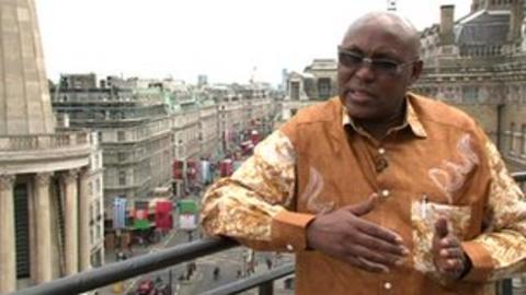 Filbert Bayi at the BBC