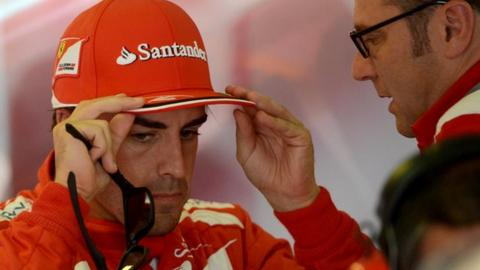 Fernando Alonso doesn't know who his team mate will be next season