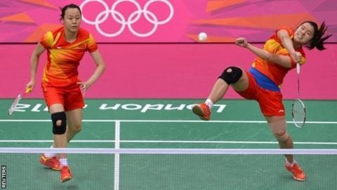 China's Tian Qing and Zhao Yunlei