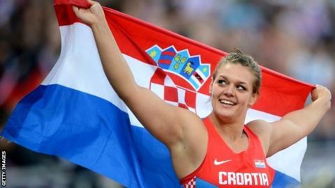 Croatia's Sandra Perkovic