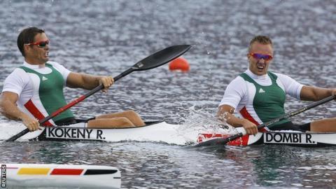 Hungary pair Rudolf Dombi and Roland Kokeny