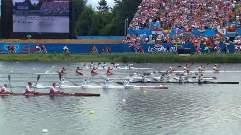 Women's K4 500m final